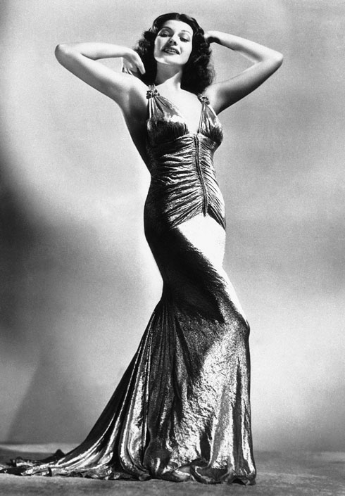ריטה הייוורת'. אייקון אופנה נצחית  (צילום: AP)