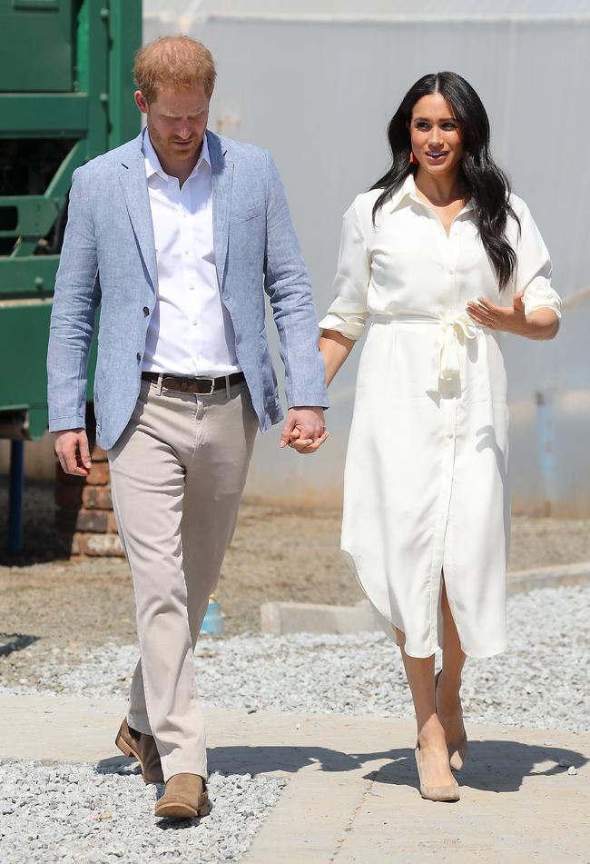יחד ונגד העולם. מרקל והנסיך הארי (צילום: Gettyimages)