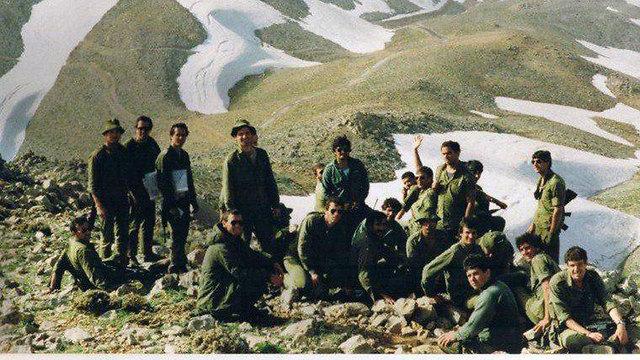 תמונות מתקופתו במחנה של ניר ברקת (צילום: מתוך האלבום פרטי)