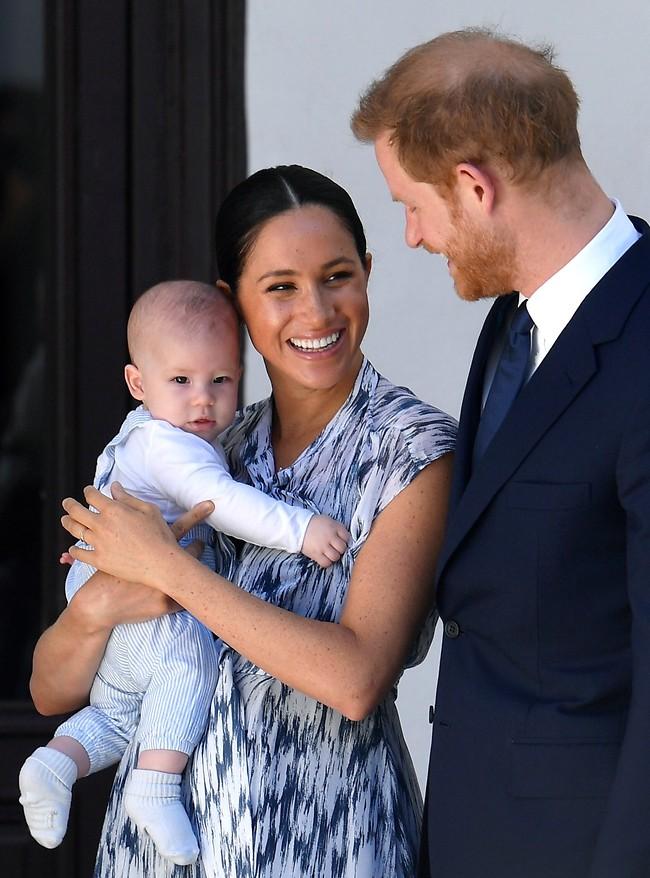 הכל למען המשפחה. הנסיך הארי, מייגן מרקל וארצ'י (צילום: Gettyimages)