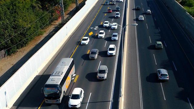 מיזם נתיב פלוס של תחבורה ציבורית (צילום: נתיבי ישראל)