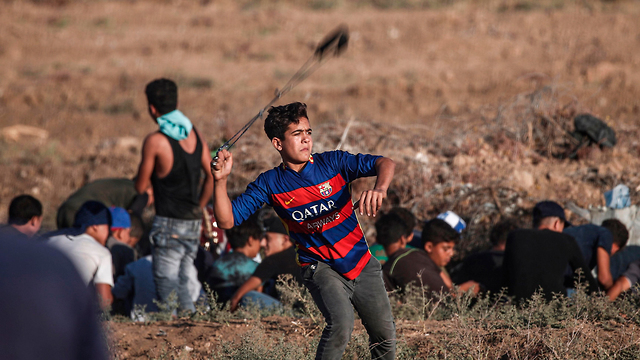 Clashes along the Gaza border with Israel (Photo: AFP) (Photo: AFP)