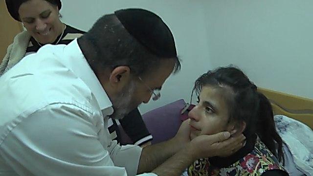 דוד כהן ובתו אפרת ()
