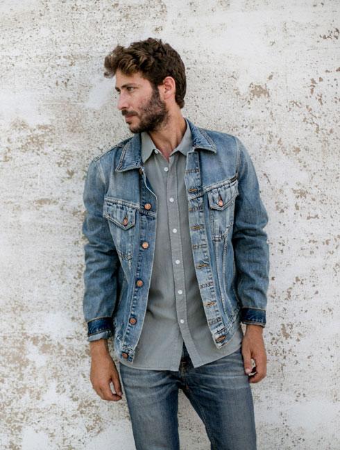 המותג נודי ג'ינס, הנמכר בחנות סטורי במתחם התחנה (צילום: אורי טאוב)