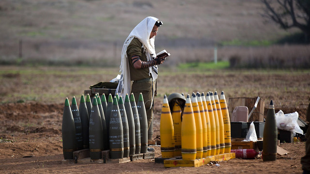 Religious Israeli soldier praying (Photo: Getty Images)