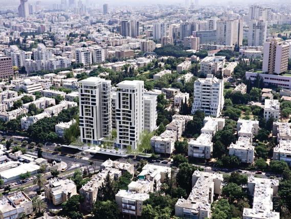 """תנופת הבנייה לא פוסחת על מזרח העיר. חברת ארזים תבנה 600 יח""""ד במסגרת התחדשות עירונית בדרך השלום ()"""