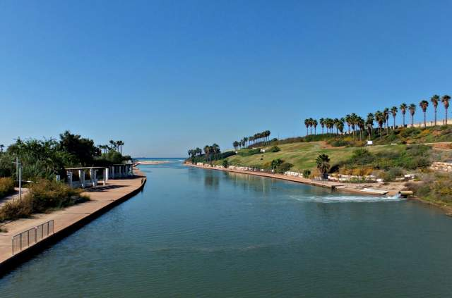 Парк вдоль реки Хадера. Фото: Леон Левитас