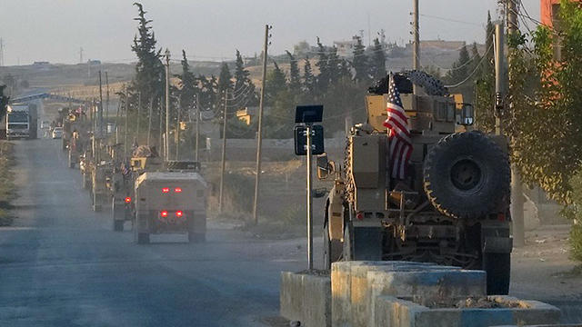 U.S. troops withdraw from Northern Syria
