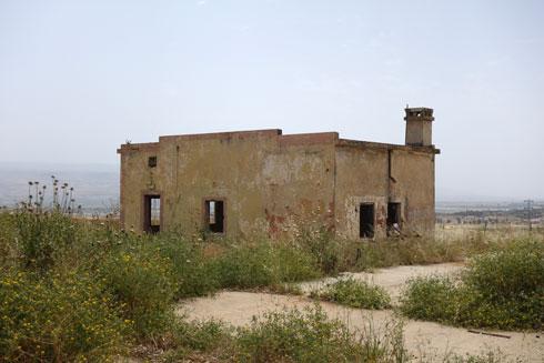 שיטוט במחנה גדעון אינו דומה לאף בסיס צבאי אחר (צילום: מיכאל יעקובסון)
