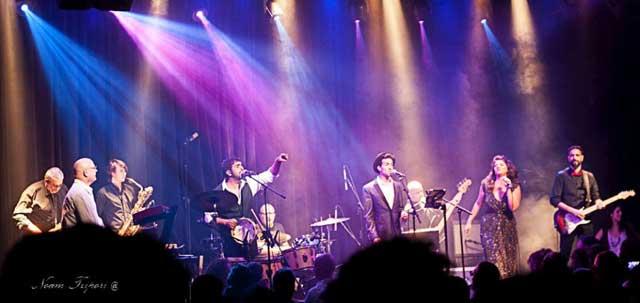 "Группа ""The Motown Tribute Band"". Фото предоставлено Центром искусств ""Elma"""