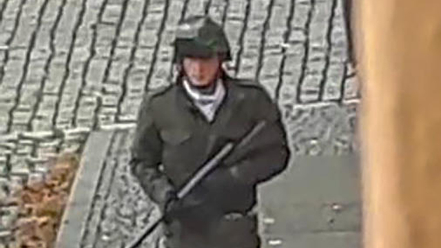 The shooter during the attack (Photo: AFP)
