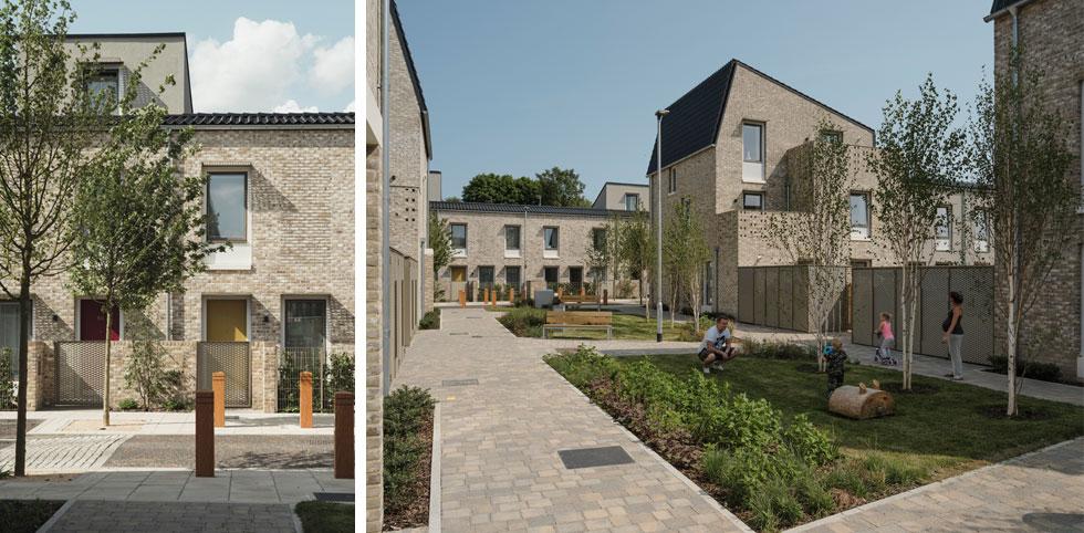 ומה צריכים להיות המרווחים הנכונים בין הבתים? האדריכלים הביטו במסורת הקיימת, והגיעו למסקנה שהמספר הנכון הוא 14 מטרים. הסבר בכתבה (צילום: © Tim Crocker)