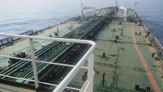מכלת מכלית נפט איראנית איראן סעודיה   ()