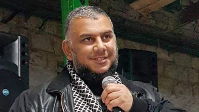 השיח' עלי אלדנף ראש התנועה האסלאמית נורה בעיר רמלה (צילום: התנועה האסלאמית)