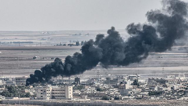 Удар турецкой авиации. Фото: AFP (Photo: AFP)