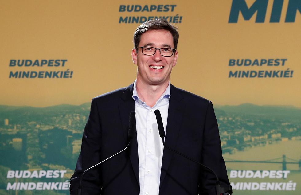 גרגיי קורצ'וני ראש העיר החדש של בודפשט הונגריה (צילום: רויטרס)