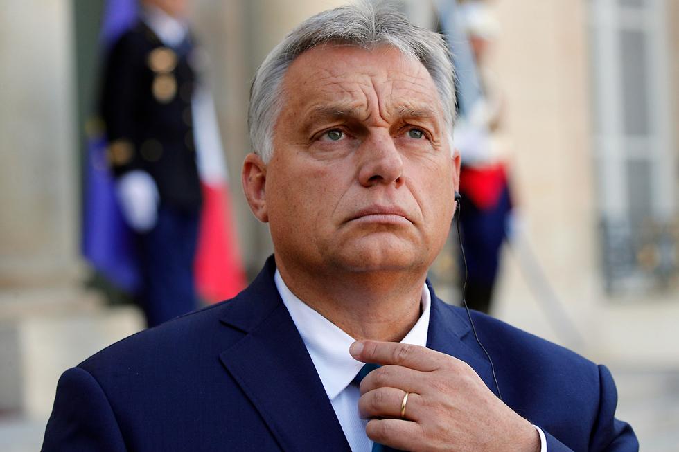 ראש ממשלת הונגריה ויקטור אורבן (צילום: AP)