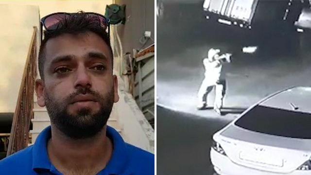 רעולי פנים ירו על ביתו ורכבו של פאדי חטיב תושב קלנסווה ()