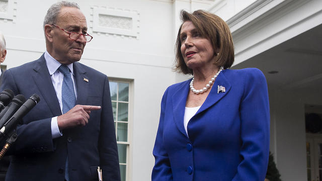 Speaker of the House Nancy Pelosi and Senate Minority Leader Chuck Schumer