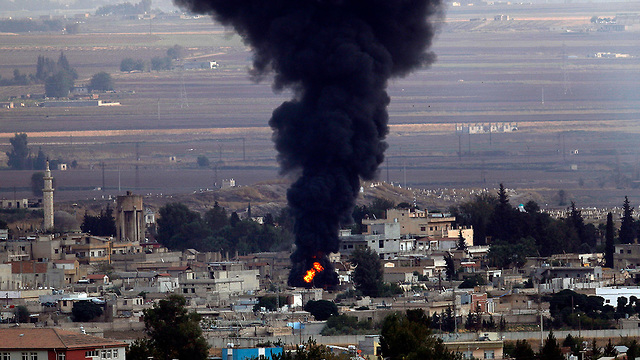 Turkish bombing in northern Syria (Photo: AP)