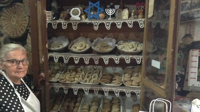Bakery selling Jewish delicacies in Ribadavia