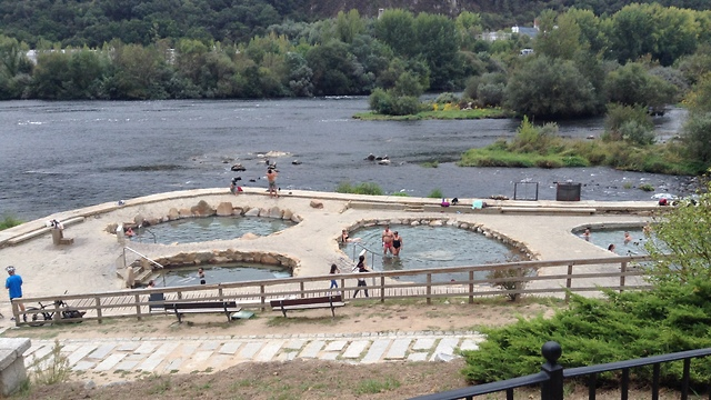 Thermal baths along the Minho River in Ourense