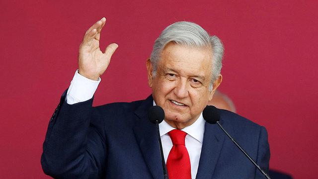 נשיא מקסיקו אנדרס מנואל לופס אוברדור (צילום: רויטרס)