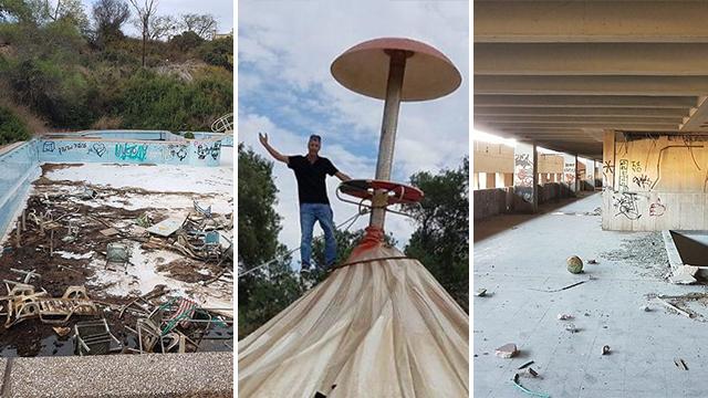 אתרים נטושים בישראל (צילומים: אסף קמר וחגי דקל)