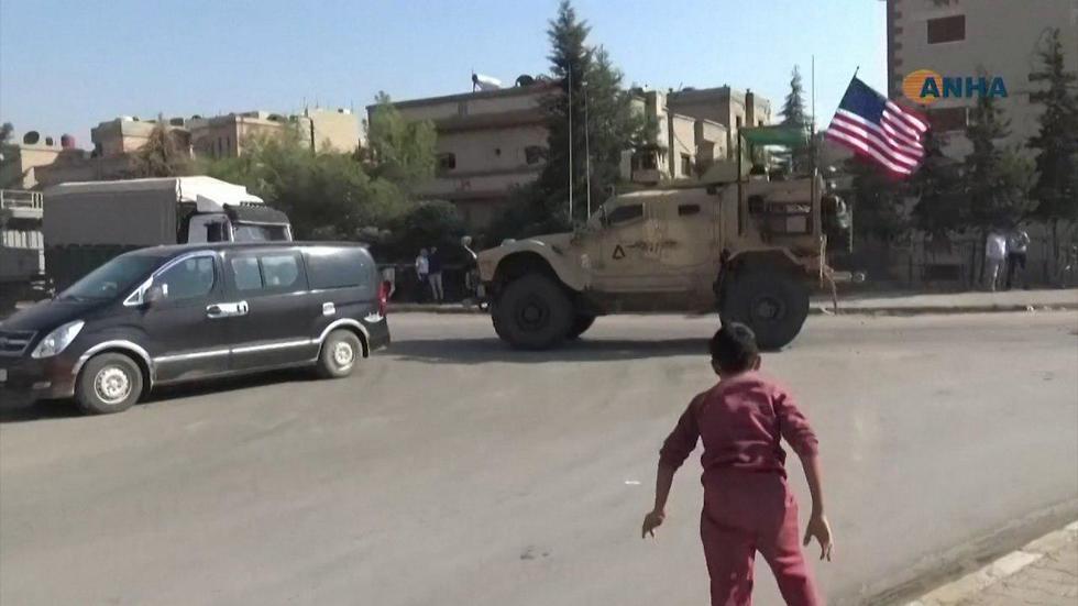 U.S. troops leaving Syria