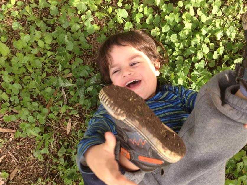 להיות עם הילד כשהוא חולה, כמה שצריך (צילום: אלבום פרטי)