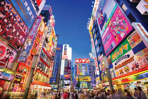 לא דומה לאף עיר אחרת. טוקיו  (צילום: ESB Professional/Shutterstock)
