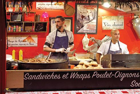 שווקים, כיכרות ומסעדות. טולוז  (צילום: Andrew Babble/Shutterstock)