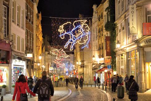 שוק חג המולד, בריסל  (צילום: skyfish/Shutterstock)