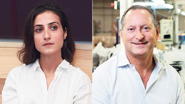 דניאל בירנבאום ואיילה כהן (צילום: אוראל כהן ועמית שעל)