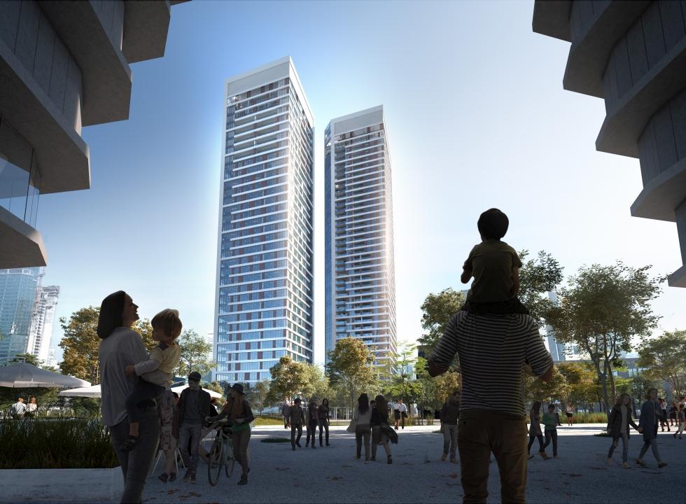 """&East פרויקט נדל""""ן חדש במזרח תל אביב (צילום: באדיבות &East)"""