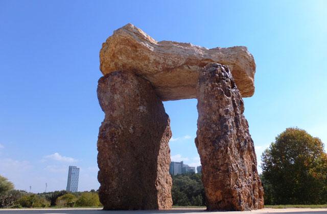 Скульптура из скал известняка. Фото: Леон Левитас