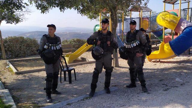 כוחות משמר הגבול בדרכם לשטח