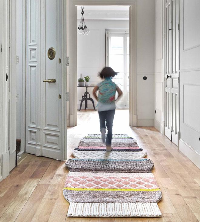 שטיח בעיצובה של פטריסיה אורקיולה. ''הביטאט''