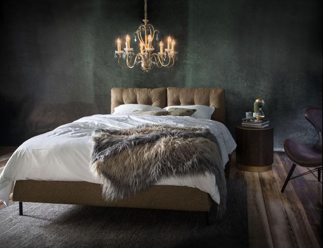 המרהיבים עוז יניחו שמיכה דמויית פרווה על המיטה. ''ביתילי''