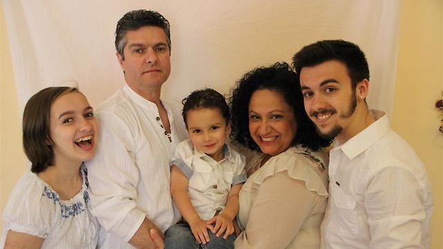 משפחת וולף (צילום: מלי אורן)