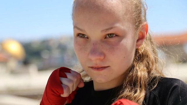 Kickboxing world champion Yulia Sachkov
