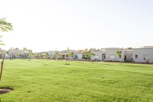 השכונה החדשה בקיבוץ ארז. התכנון של אדריכלית ענת מוגילנר (צילום: קרין רבנה)