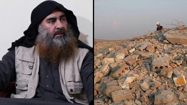 חיסול מנהיג דאעש אבו בכר אל בגדדי חוסל בארישא אידליב סוריה ()
