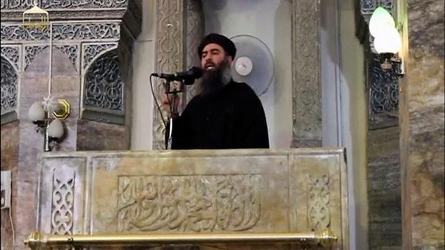 בתמונות של מקום החיסול בבוקר לכתוב – המתחם שבו חוסל מנהיג דאעש על פי דיווחים (צילום: רויטרס)