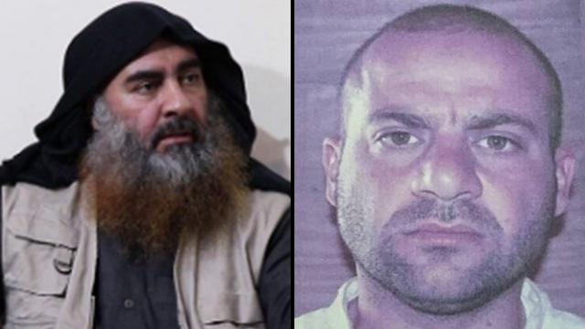 Абу-Бакр аль-Багдади и его преемник Амир aль-Салби. Фото: MCT