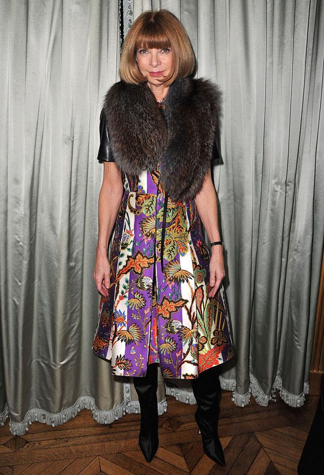 הפכה לאחת הדמויות הכי חזקות בעולם האופנה, וגם לאחת הפחות אהובות. 2011 (צילום:  Pascal Le Segretain/GettyimagesIL)