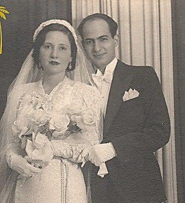 Eva's parents, Leah and Abraham Cohen (Photo: Babylonian Jewry Heritage Center )