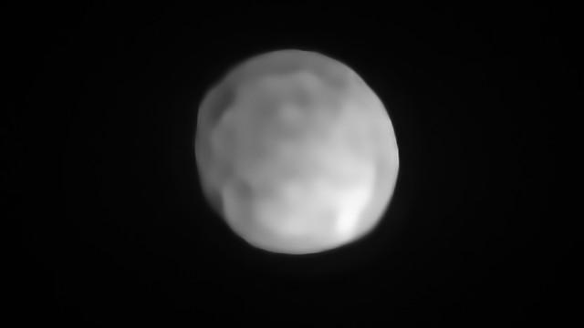 יקבל שדרוג? האסטרואיד היגיאה (צילום:  ESO/P. Vernazza et al./MISTRAL algorithm)