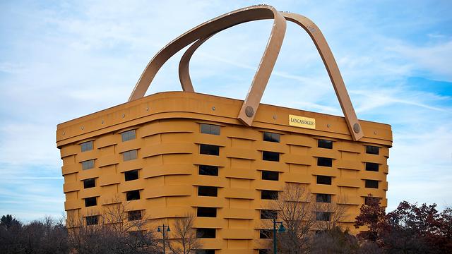 בניין בצורת סל פיקניק שיהפוך למלון אוהיו (צילום: shutterstock)