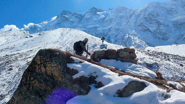 מטפס הרים מ נפאל נירמל פורג'ה טיפס על 14 פסגות ההרים הגבוהים בעולם (צילום: AFP)
